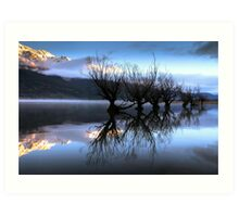 The Sisters - Glenorchy - NZ Art Print