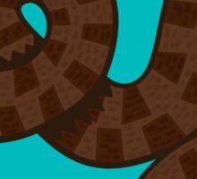 Brown Water Snake Sticker