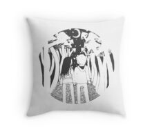 Road tripping Throw Pillow