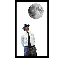 President Obama's Virtual Reality Moon Experience Photographic Print