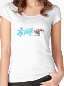 Battlefielded. (Fox) Women's Fitted Scoop T-Shirt