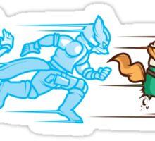Battlefielded. (Fox) Sticker