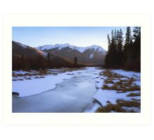 Vermillion Lakes - Banff - Canada Art Print