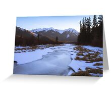 Vermillion Lakes - Banff - Canada Greeting Card