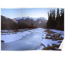Vermillion Lakes - Banff - Canada Poster