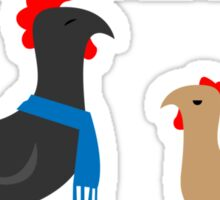 Johnlock in the Hen House Sticker