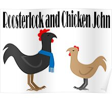 Johnlock in the Hen House Poster
