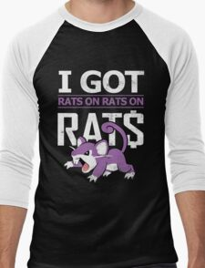 Rats on Rats on Rats Men's Baseball ¾ T-Shirt
