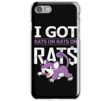 Rats on Rats on Rats iPhone Case/Skin