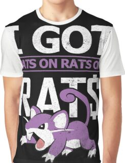 Rats on Rats on Rats Graphic T-Shirt