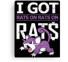 Rats on Rats on Rats Canvas Print