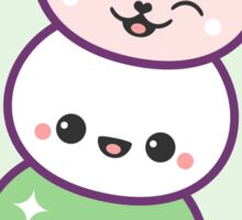 Cute Kitty Cat Dango Sticker