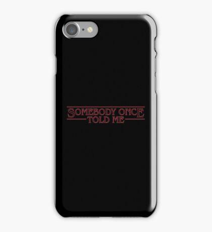 Stranger Ogres iPhone Case/Skin