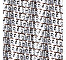 Happy Hour (Small Mosaic - White Background) Photographic Print