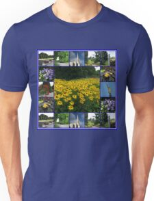 The Garden of the Lord - Floral Collage Unisex T-Shirt