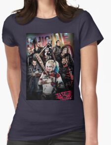Suicide Squad  Womens Fitted T-Shirt