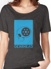 GEARHEAD-Blue Women's Relaxed Fit T-Shirt