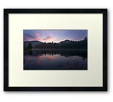 Chimney Top o the Morning Framed Print