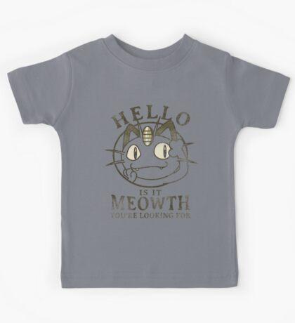 Hello Kids Tee