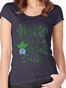 Hello 2 Women's Fitted Scoop T-Shirt