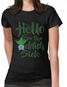 Hello 2 Womens Fitted T-Shirt