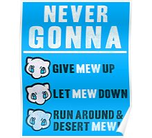 Never Gonna Give Poster