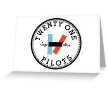 TWENTY ONE PILOTS Greeting Card