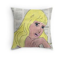Say this using equations Throw Pillow