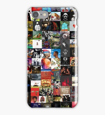 the greatest hip hop collage iPhone Case/Skin