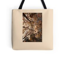 Fall Leaves Tote Bag - Beige Tote Bag