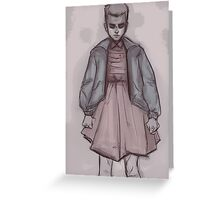 Eleven. Stranger Things Greeting Card