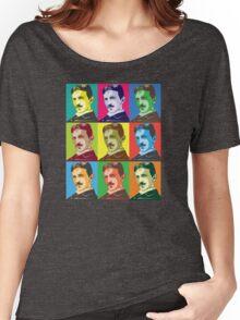 Tesla - Pop Art Women's Relaxed Fit T-Shirt