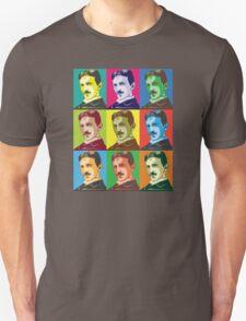 Tesla - Pop Art Unisex T-Shirt