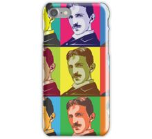Tesla - Pop Art iPhone Case/Skin