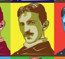 Tesla - Pop Art Sticker