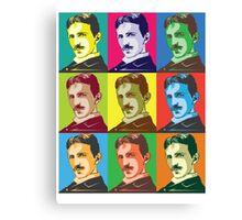 Tesla - Pop Art Canvas Print