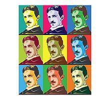 Tesla - Pop Art Photographic Print