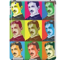 Tesla - Pop Art iPad Case/Skin