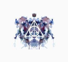 HP Deathly Hallows Galaxy Watercolor Unisex T-Shirt