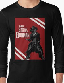 Them Crooked Vultures - Gunman Long Sleeve T-Shirt