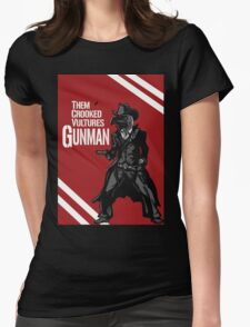 Them Crooked Vultures - Gunman Womens Fitted T-Shirt