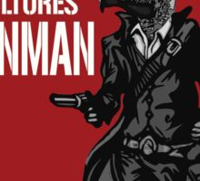 Them Crooked Vultures - Gunman Sticker