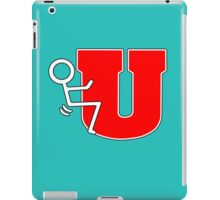 Stick u iPad Case/Skin