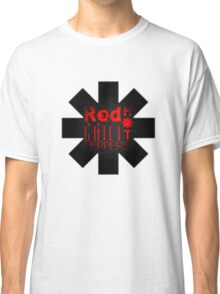 Red HotChili Peppers  Black wall Classic T-Shirt