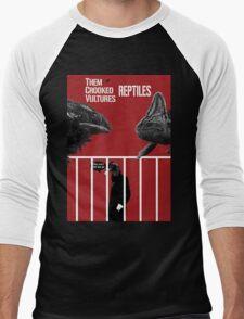 Them Crooked Vultures - Reptiles Men's Baseball ¾ T-Shirt