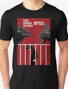 Them Crooked Vultures - Reptiles T-Shirt