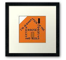 Lego House Framed Print