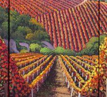 Vineyards Sticker