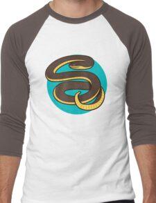Plain Bellied Water Snake Men's Baseball ¾ T-Shirt