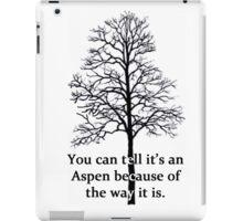 Neature Walk: Aspen iPad Case/Skin